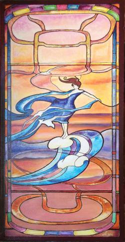 Picturi decor Culoarea vantului