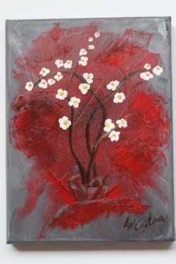 Picturi decor Flori albe