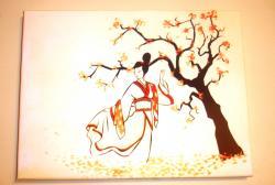 Picturi decor Geishaa