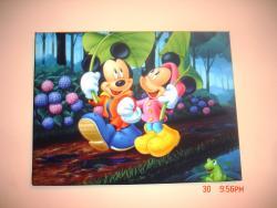 Picturi decor Mickey and Minnie