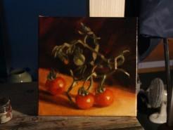 Picturi decor Rosii mici si proaspete