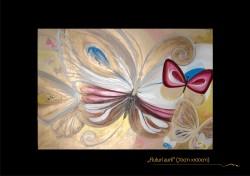 Picturi decor Fluturii aurii