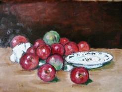 Picturi decor Farfurie cu mere