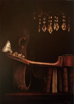 Picturi decor Compozitie cu carti