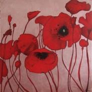 Picturi decor Flori de mac