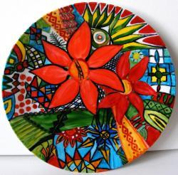 Picturi decor Ceramica pictata 4