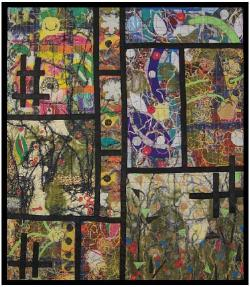 Picturi decor quilt abstract 1