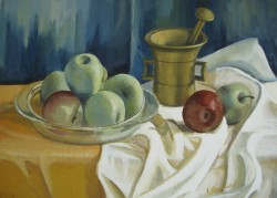 Picturi decor Green apples