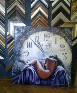 Picturi decor Regretul timpului