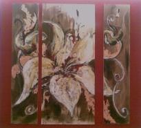 Picturi decor Petale de crin
