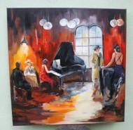Picturi decor Teatru de cafenea 1