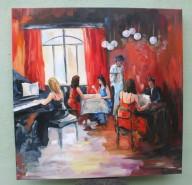 Picturi decor Teatru de cafenea 2