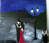 Picturi decor In noapte