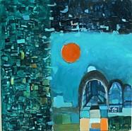 Picturi decor Noapte albastra