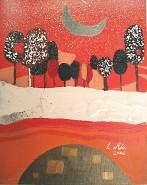Picturi decor Primavara rosie