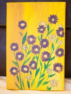 Picturi decor Flori mici