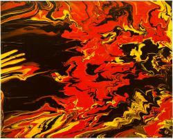 Picturi decor Flow Black 1