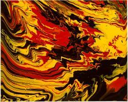 Picturi decor Flow Black 3