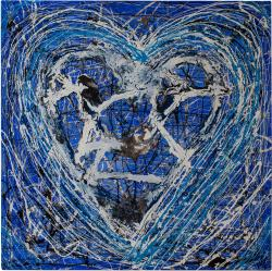 Picturi decor Heart Blue