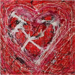 Picturi decor Heart Red