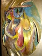 Picturi decor Imbratisare- pablo picasso esti si vei ramane un geniu