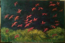 Picturi decor Zbor deasupra pădurii