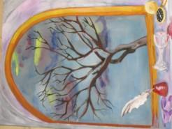 Picturi decor Copacul