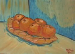 Picturi decor Cosul cu portocale