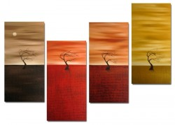 Picturi decor Desert in culori