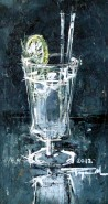 Picturi decor Apa plata cu lamaie