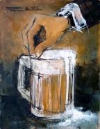 Picturi decor Bere cu sare