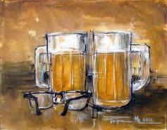 Picturi decor Doua beri, doua lentile