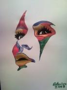 Picturi decor Portret