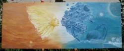 Picturi decor Sarutul 1