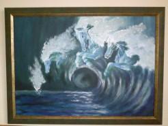 Picturi decor Valul