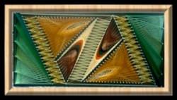 Picturi decor  triunghiuri pereche