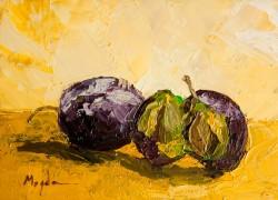Picturi decor Pictura in ulei originala - prune
