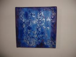 Picturi decor Blue hand