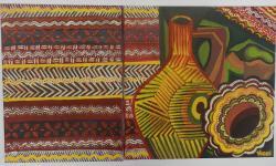 Picturi decor Compozitie cu stergar taranesc--Diptic