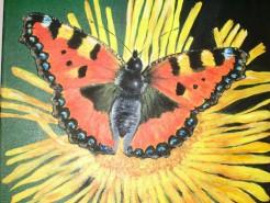 Picturi decor Fluture