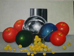 Picturi decor Globuri si fructe