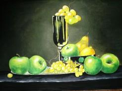 Picturi decor Mere verzi
