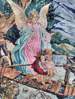 Picturi goblen Ingerul Pazitor