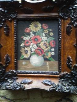 Picturi goblen Vaza cu flori de camp