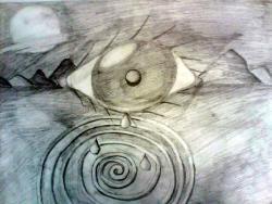 Picturi in creion / carbune ...