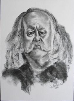 Picturi in creion / carbune PERSONAJ