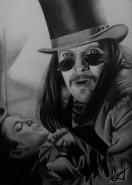 Picturi in creion / carbune  gary oldman - dracula 1992