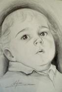 Picturi in creion / carbune Alejandro