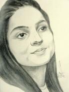 Picturi in creion / carbune Diana c