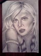 Picturi in creion / carbune Diva